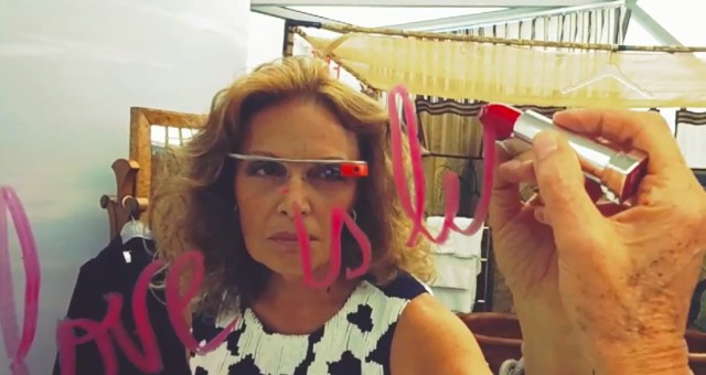DVF and Google Glass